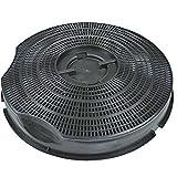 Spares2go Filtre à charbon de type 30 pour hotte Philips Whirlpool AKG AKB AKR G2P 235 mm x 46 mm
