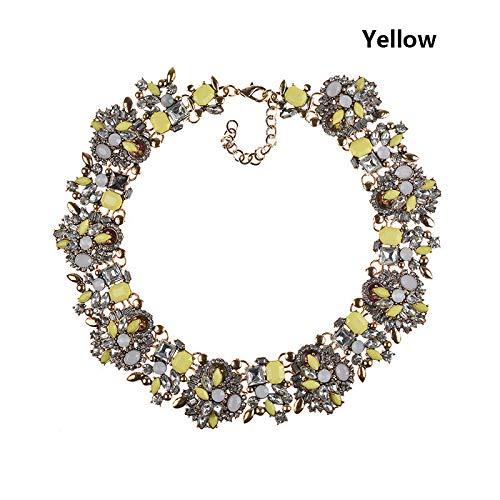 ASOSMOS 1 Stücke Halskette Kette Anhänger Schmuck Luxus Kostüm Dekoration Geschenk Für Frauen Dame