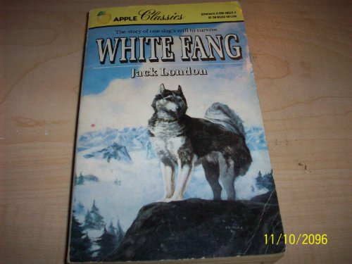 White Fang 0590405233 Book Cover