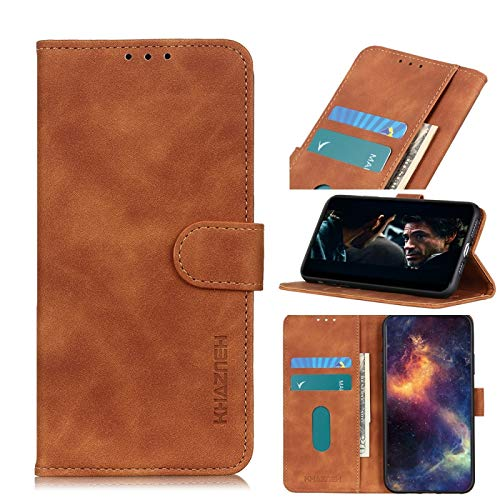 Funda protectora del teléfono móvil Para el caso de cuero del tirón Xiaomi redmi 9A khazneh textura PU TPU horizontal con el sostenedor y ranuras para tarjetas y monedero Estuche para el teléfono