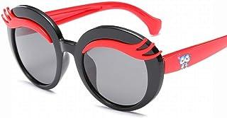 d96a89eb37 fhccy Gafas De Sol Infantiles Lindas Gafas De Sol Polarizadas Gafas Cejas  Personalidad Gafas De Sol