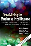 Data Mining for Business Intelligence Book Cover