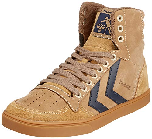 Hummel Unisex-Erwachsene Stadil Rubber Hohe Sneaker High-Top, Beige (Taupe Grey 1513), 45 EU