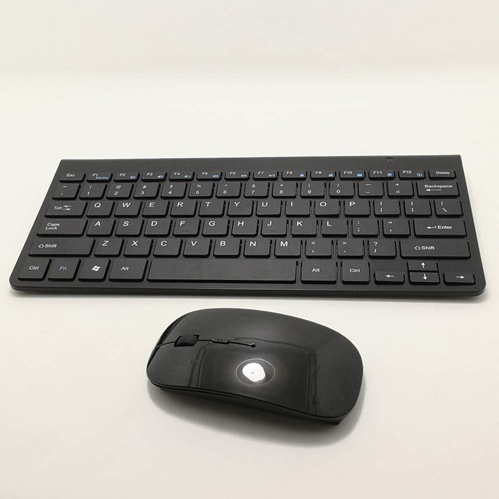 Long Battery Life 2.4GHz Dropout-Free Connection Wireless Keyboard and Mouse Combo Unique Stylish Design