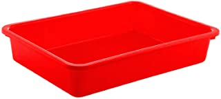 Kuber Industries Plastic Medium Size Stationary Office Tray, File Tray, Document Tray, Paper Tray A4 Documents/Papers/Lett...