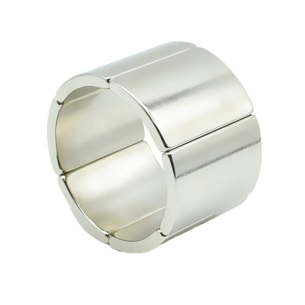 6 Pack NdFeB Arc Segment Magnets Popular popular Height Max 66% OFF Ne 54.4mm Dia 36mm 2.14