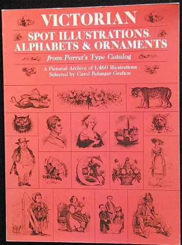 Victorian Spot Illustrations Alphabets and Ornaments (Dover Pictorial Archive Series)