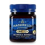 Haddrells of Cambridge Miel de Manuka | UMF 22+ MGO 1000+ | Miel de manuka pura premium de Nueva Zelanda | 250g