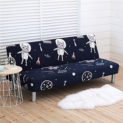 QWEASDZX Funda De Sofá Protector De Muebles Impermeable Simple Funda De Sofá Elástica Fácil De Usar Protector De Sofá De Tela Elástica 3 Seater(190-210cm