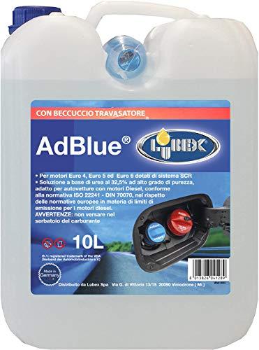 LUBEX 12, Additivo AD Blue 10LT. con BECCUCCIO