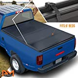 Hard Solid Tri-Fold Tonneau Cover for Chevy S10/GMC Sonoma with Fleetside/Styleside 6ft Bed 82-93