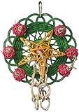 Super Bird Creations 8 by 5-1/2-Inch Vine Mat Wreath Bird Toy, Medium