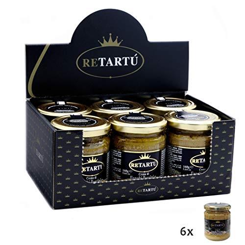 Crema di Funghi Porcini e Tartufo Bianco 160 gr x 6