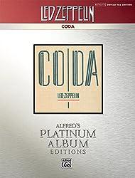 Led Zeppelin: Coda: Alfred\'s Platinum Album Editions, Authentic Guitar Tab Edition