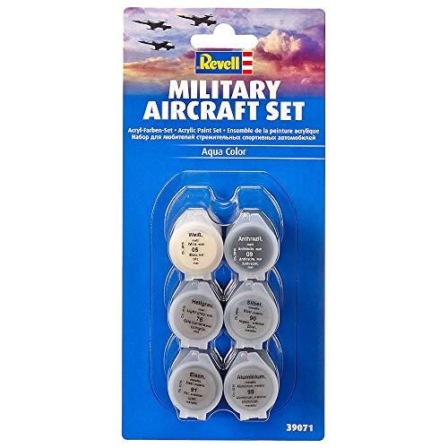 Revell Juego de aviones militares, color aeronaves 39071