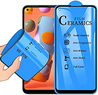 Screen Protector Foils for Samsung Galaxy A11 2.5D Full Glue Full Cover Ceramics Film Mobile Communication Accessories