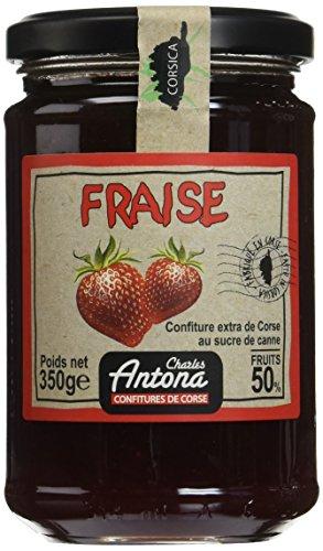 Charles Antona Confiture Extra de Fraise, 350 g