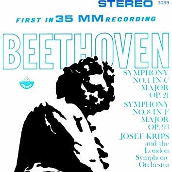 Beethoven: Symphonies No. 1 & 8