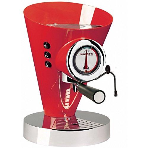 Casa Bugatti 15-EDIVAC3 Volautomatische espressomachine, Diva Evolution, rood