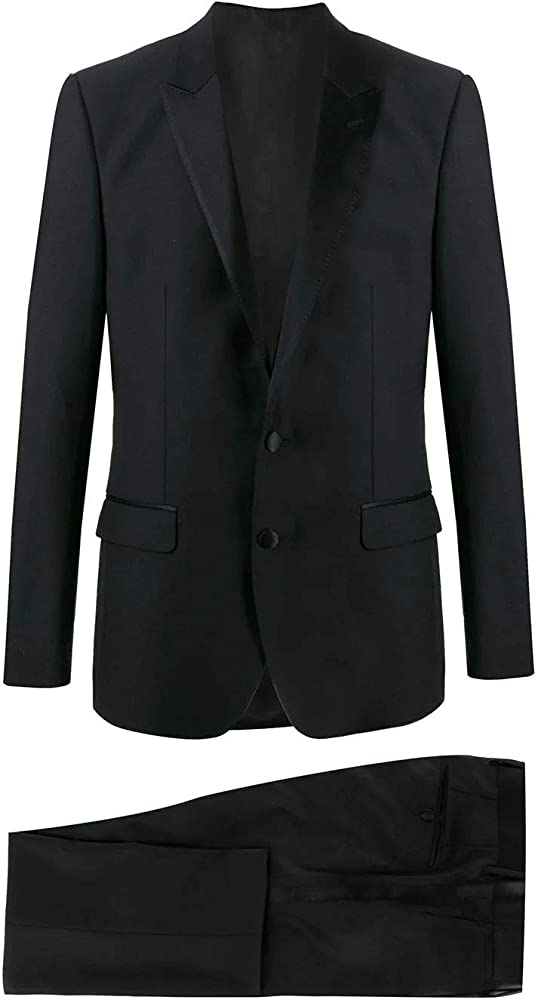 Dolce & gabbana luxury fashion abito per uomo in lana e seta GK2WMTFU2Z8N0000