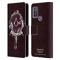 Head Case Designs オフィシャル ライセンス商品 Assassin's Creed Arno Dorian 2 Unity キャラクターアート Motorola Moto G10 / Moto G30 専用レザーブックウォレット カバーケース
