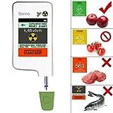 Cibo rivelatore di radiazione, Banne Portable touch-screen rilevatore nitrati con magnete integrato per frutta verdura carne