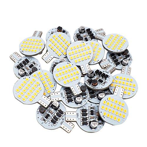 GRV T10 AMPOULE LED 921 194 192 C921 24–3528 SMD Super Bright Lampe AC/DC 12 V-24 V 2,5 W