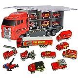 Jenilily Spielzeug-Feuerwehrauto