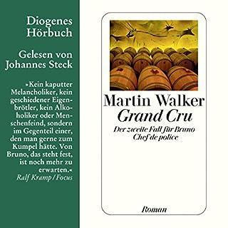 Grand Cru     Bruno Courrèges 2              Autor:                                                                                                                                 Martin Walker                               Sprecher:                                                                                                                                 Johannes Steck                      Spieldauer: 9 Std. und 12 Min.     696 Bewertungen     Gesamt 4,3