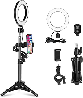 dalinana 3.6 in LED Ring Camera Fill Light Supplement Light Macro /& Ringlight Flashes