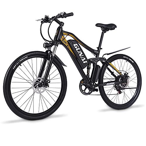 Bicicletas Eléctricas De Montaña Doble Suspensión Marca GUNAI