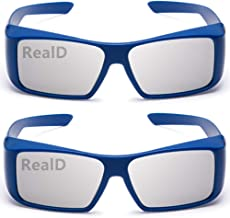 AoHeng 3D Glasses for Movies/Theater/Cinema/Passive 3D TV(RealD)2Pack