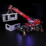 BRIKSMAX Kit de Iluminación Led para Lego Technic Grúa Todoterreno, Compatible con Ladrillos de Construcción Lego Modelo 42082, Juego de Legos no Incluido