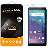 (2 Pack) Supershieldz for ZTE (Blade Vantage 2) Tempered Glass Screen Protector, Anti Scratch, Bubble Free