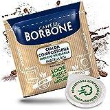 Café en monodosis de papel 44mm, Borbone, mezcla azul 50, 100, 200, 300, 400, 500 unidades 100