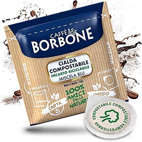 Kaffeepads 44mm, Caffè Borbone, Miscela Blu-Mischung, Stückzahl: 50, 100, 200, 300, 400, 500 100