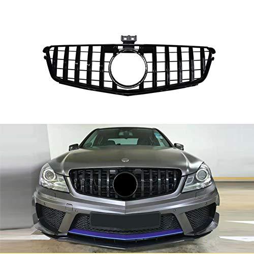 ASDNN Rejilla De Parrilla De Parachoques Delantero De Coche para GT R para Estilo Amg para Benz Clase C W204 C200 C300 2008-2014