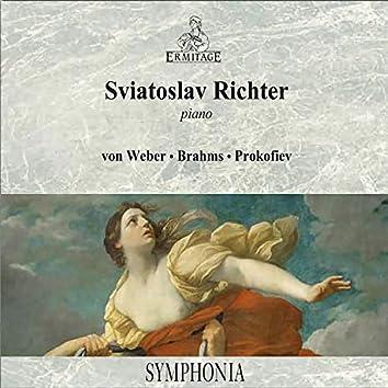 Sviatoslav Richter Piano - Weber - Brahms - Prokofiev