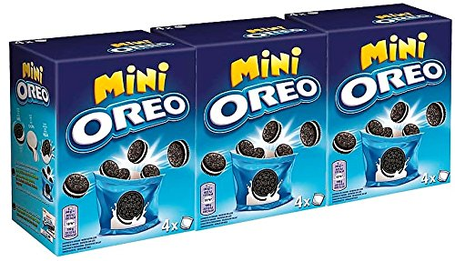 Oreo Mini Galletas 160 gr. [Pack de 3]