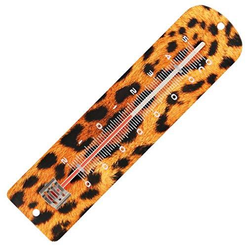 Thermomètre métal imprimé guepard. Spear & Jackson - Pièce neuve