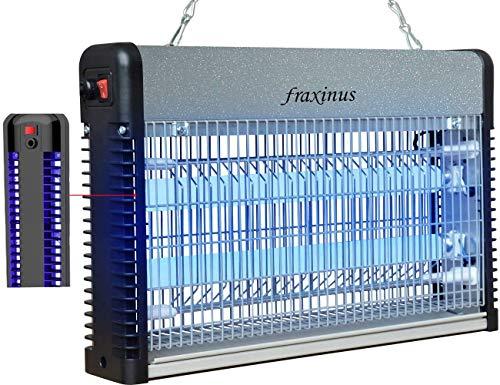 KEYNICE Insektenvernichter Elektrisch Ultravioletter LED Indoor Mückenbekämpfung Mückenfalle Mücken UV Mückenlampe mit Ventilator-Schwarz