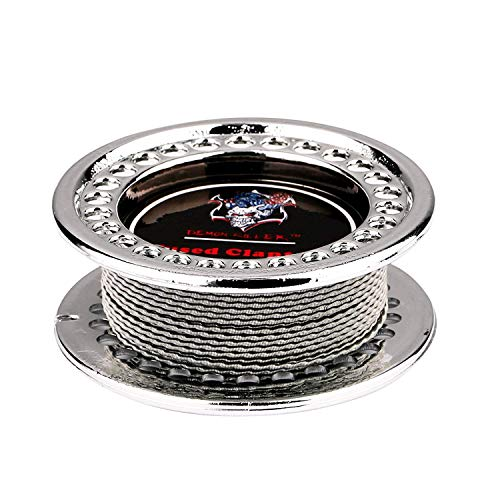 DIY Heating Coil Wire Kanthal A1 Resistance Wire 15 Feet (Fused Clapton 28GAx2+32GA)