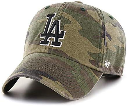 OFFicial site '47 Brand Adjustable Cap - Clean LA Ranking TOP16 UP Dodgers