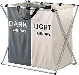 Sac à linge HXF- Dirty vêtements panier pliable panier de rangement salle de bain vêtements sales panier de rangement de v...
