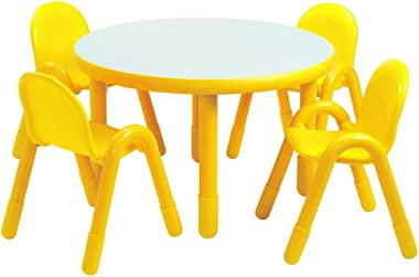 Angeles Rounded Edges Kids Tables (Royal Blue)