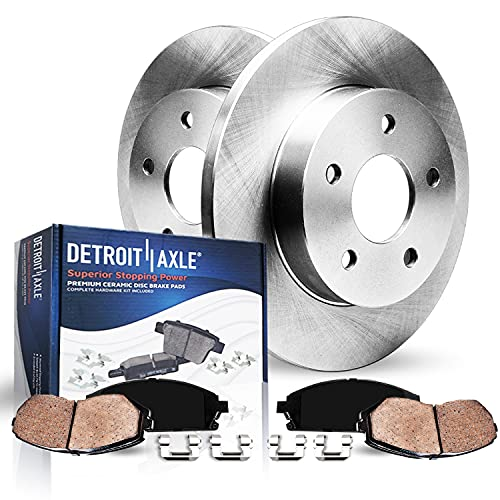 Detroit Axle - 260mm Rear Disc Rotors + Ceramic...