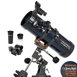 Celestron Astro Master 114eq - Telescopio, Plateado (B000MLL6R8) | Amazon price tracker / tracking, Amazon price history charts, Amazon price watches, Amazon price drop alerts