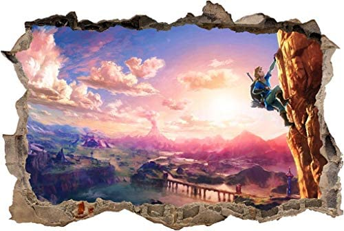 Breath of the wild mural