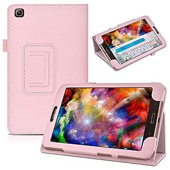 Samsung Galaxy Tab 3 8.0 T310 Case,Samsung SM-T310 Case,Beebiz Ultra Slim Lighted PU Leather Case Cover with Stand Case for Samsung Galaxy Tab 3 8.0 Cover,Pink