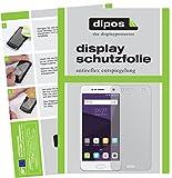 dipos I 2X Schutzfolie matt kompatibel mit ZTE Blade V8 Folie Bildschirmschutzfolie
